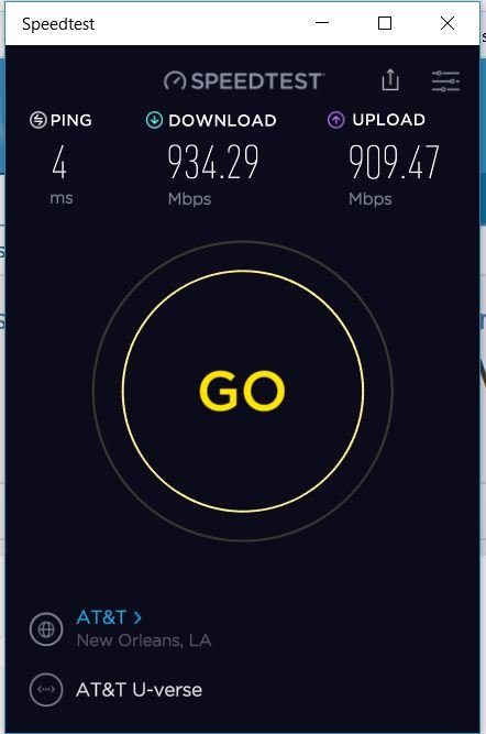 Click image for larger version.  Name:ATT Fiber Speed Test.JPG Views:69 Size:37.5 KB ID:146382