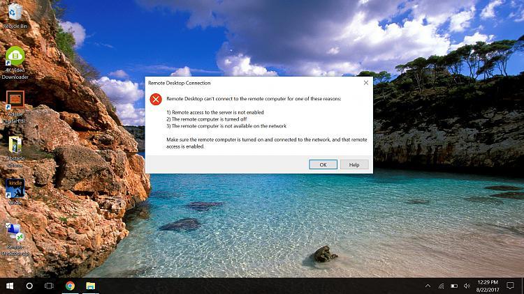 Stupendous Remote Desktop For Win 10 Home Windows 10 Forums Download Free Architecture Designs Viewormadebymaigaardcom