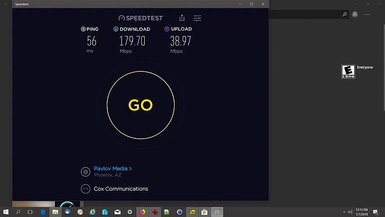Speed test recommendations? - Windows 10 Forums