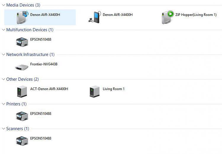 Explorer/Network shown everything except Computer - Windows