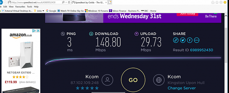 slower internet connection on ethernet than wireless ...