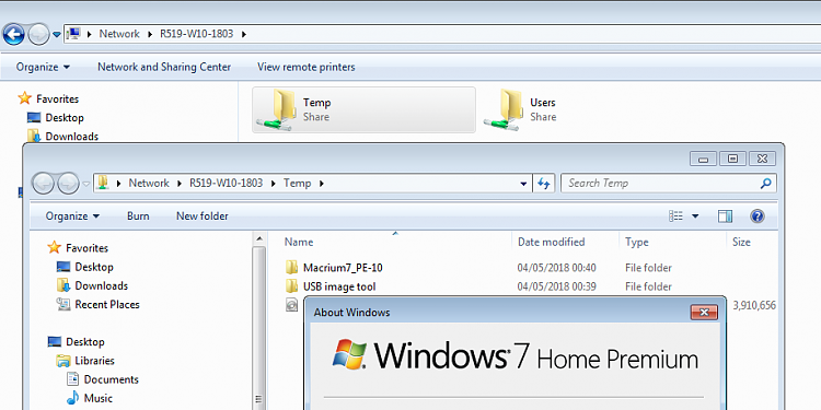 Win 7 and Win 10 Home Network Oddity Solved - Windows 10 Forums