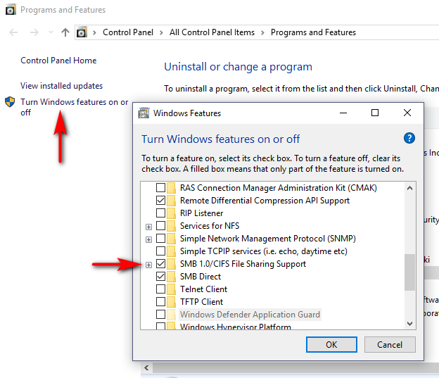 Windows 10 Pro unable to connect to samba share but works in safe mode-smb.jpg