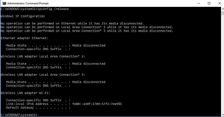 Windows has detected an IP address conflict and other Network Problems-release.jpg