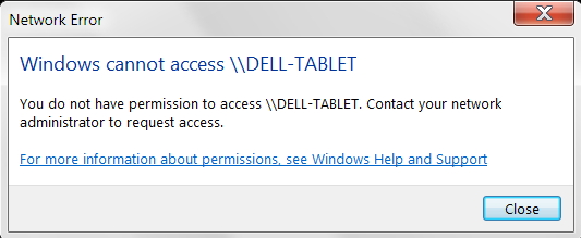 Cannot Access Win 10 Laptop from Win 7 Desktop - Windows 10