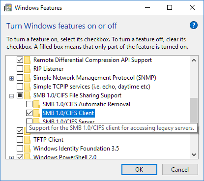 Cannot Access NAS-server after Win10 update-smb1-client.png