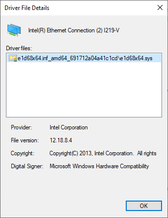 New Intel Ethernet Drivers - Page 2 - Windows 10 Forums