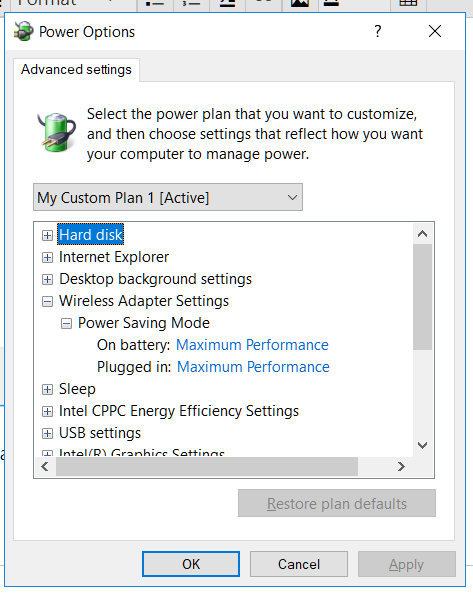Laptop WiFi connection drops when on battery power-power-wireless.png
