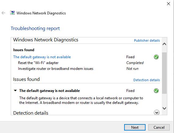 Click image for larger version.  Name:network diagnostics.PNG Views:25 Size:19.2 KB ID:227848
