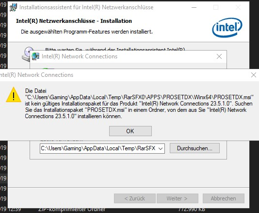 Network driver not fully removed after uninstall Solved