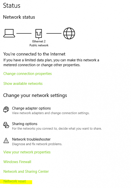 RDP and Network Connection Drops While on Ethernet - Windows