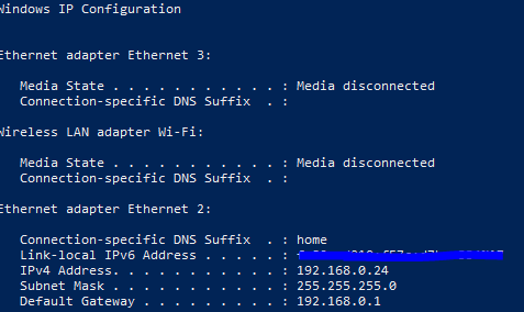 RDP and Network Connection Drops While on Ethernet-ipconfig.png