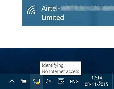 How do I enable the old networking tray icons on Windows 10 1903?-limited-network-connectivity-windows-10.png