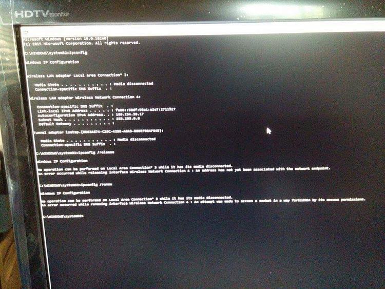 Unidentified Network Windows 10 Wireless