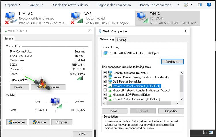 Static DNS with DHCP in Windows 10-ipv4.png