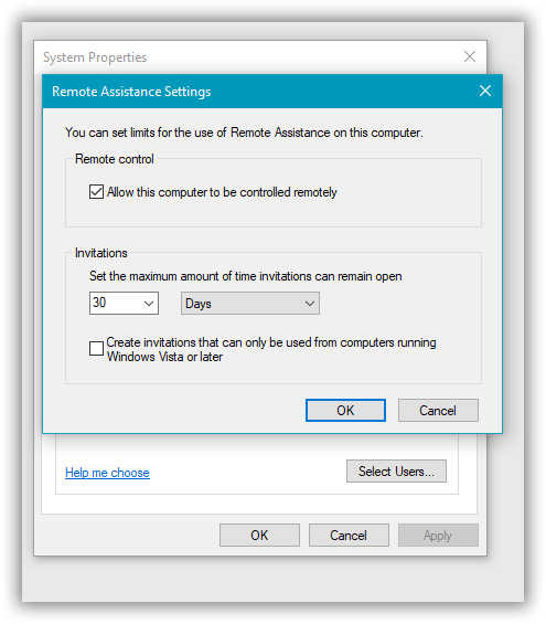 Cannot Disable Remote Assistance-sshot-1.png