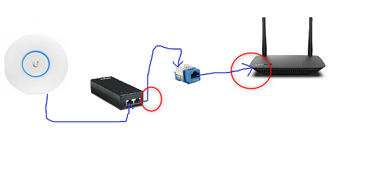 wire from POE injector in to keystone jack THEN router. (will it work?-image.png