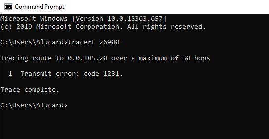 Why can't I forward ports on Windows 10?-error1231.jpg