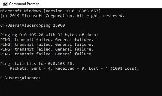 Why can't I forward ports on Windows 10?-transmitfailed.jpg