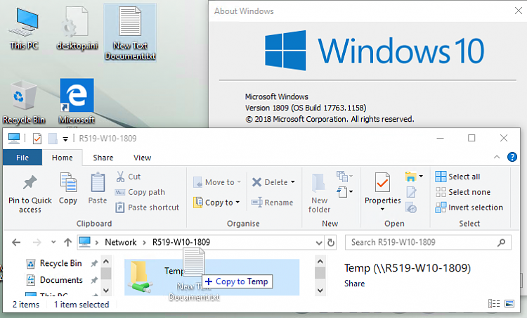 Since upgrading to 1909, I can no longer copy to shared folders-image.png