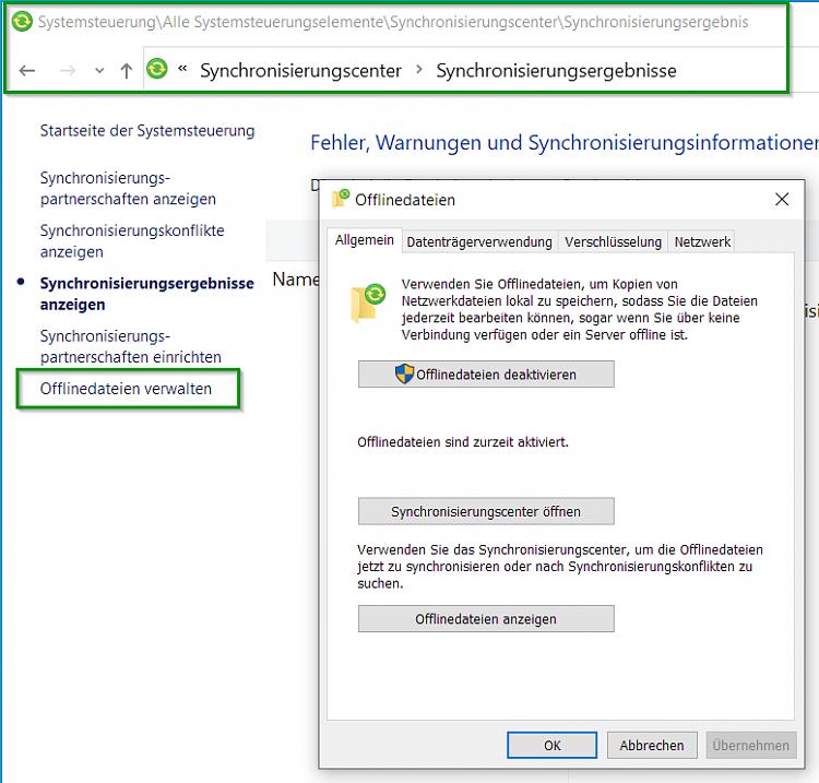 Disable the green Status online icon in the file explorer status bar?-offline-dateien-deaktivieren.png