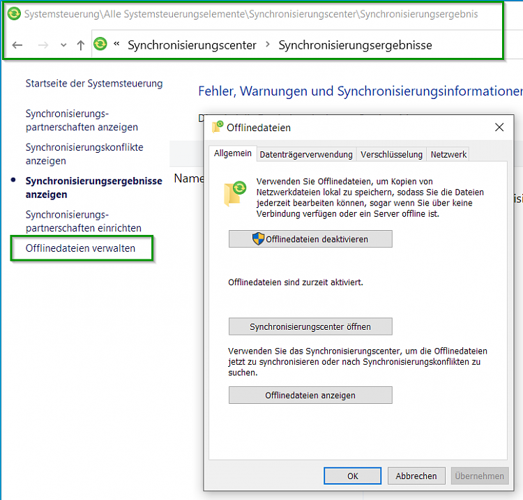 Disable the green Status online icon in the file explorer status bar?-offline-dateien-deaktivieren.png