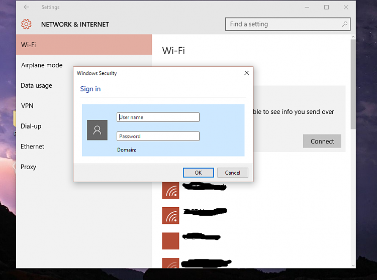 Windows Security Login pop up when connecting to wireless ... Computer Network Login