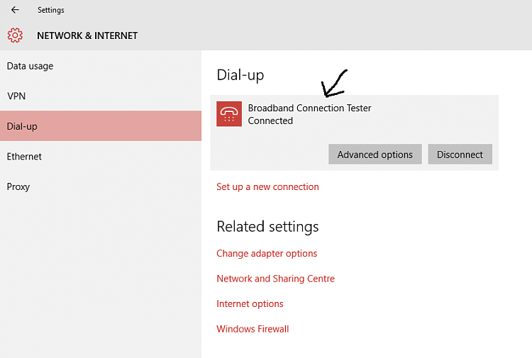 """No """" Prompt for username and password """" option in windows 10  Dialup.-untitled.png"""