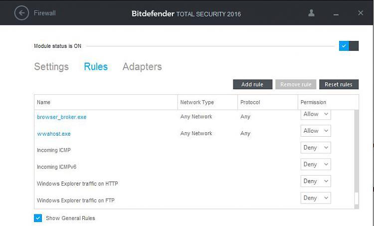 Click image for larger version.  Name:Bitdefender firewall.JPG Views:2 Size:38.0 KB ID:44414