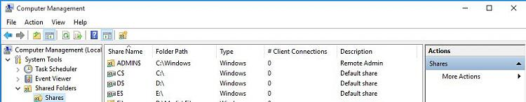 Click image for larger version.  Name:Visible default shares in Win10.JPG Views:2 Size:43.8 KB ID:46126
