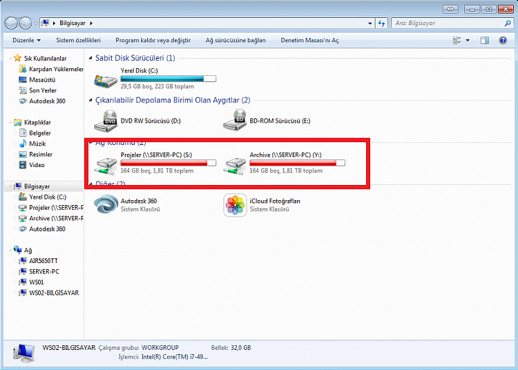 Network Locations' Harddisk Space Info Are Not Shown-w7.png