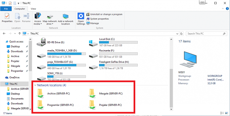 Network Locations' Harddisk Space Info Are Not Shown-w10.png