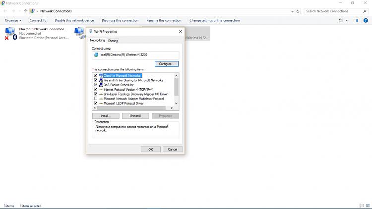 windows 10 wireless issues
