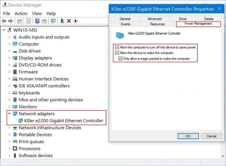 Wake On LAN is Not Working - Windows 10 Forums
