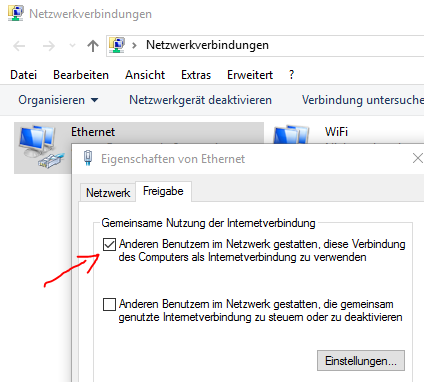 how to connect windows 10 to internet