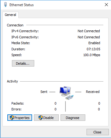 Click image for larger version.  Name:screen settings 2 Ethernet Status.PNG Views:16 Size:14.1 KB ID:57433