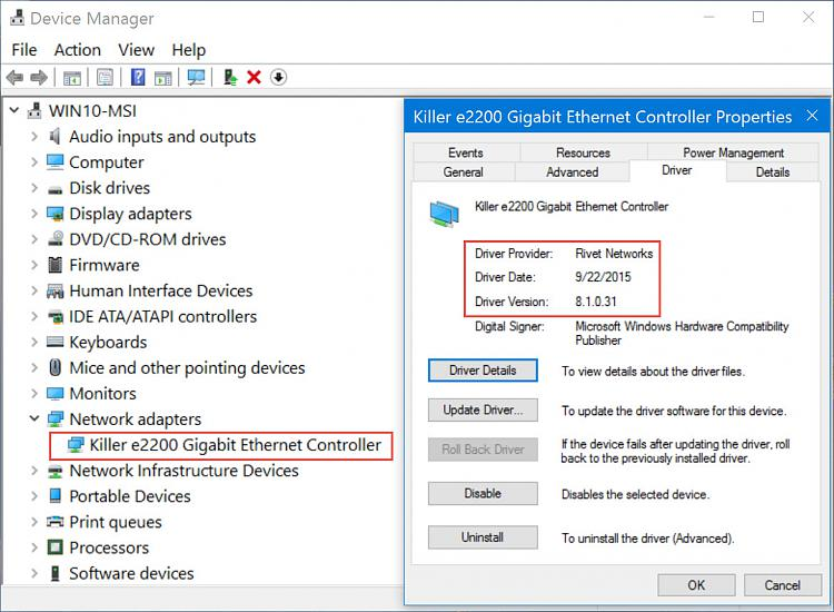 Need a PCI Ethernet Network Adapter - Windows 10 Forums