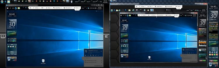 Click image for larger version.  Name:TEAM VIEWER Host 7 Ultimate and Remote 7 Pro Both Connect To Remote 10VM.jpg Views:2 Size:298.9 KB ID:69827