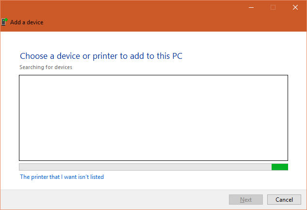 how to change network printer windows 10