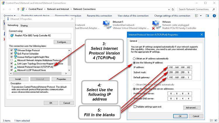 Click image for larger version.  Name:Set static ipv4.jpg Views:5 Size:195.2 KB ID:76927