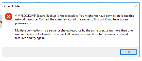 Cannot access a secured share on a NAS-multiple-server-connections.png