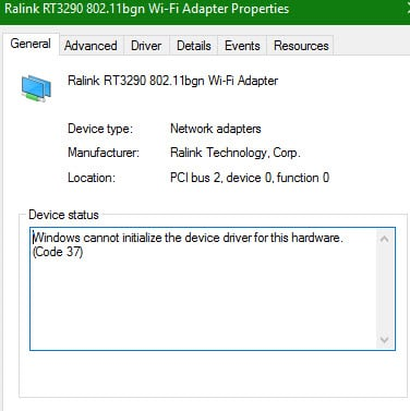Solved: latest ralink rt3290 802. 11 bgn wifi adapter hp support.