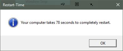 Click image for larger version.  Name:Restart Time Result.PNG Views:19 Size:6.4 KB ID:126472