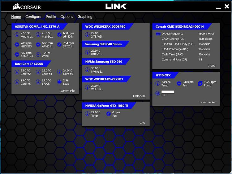 Click image for larger version.  Name:Corsair Link Home.jpg Views:2 Size:184.6 KB ID:135544