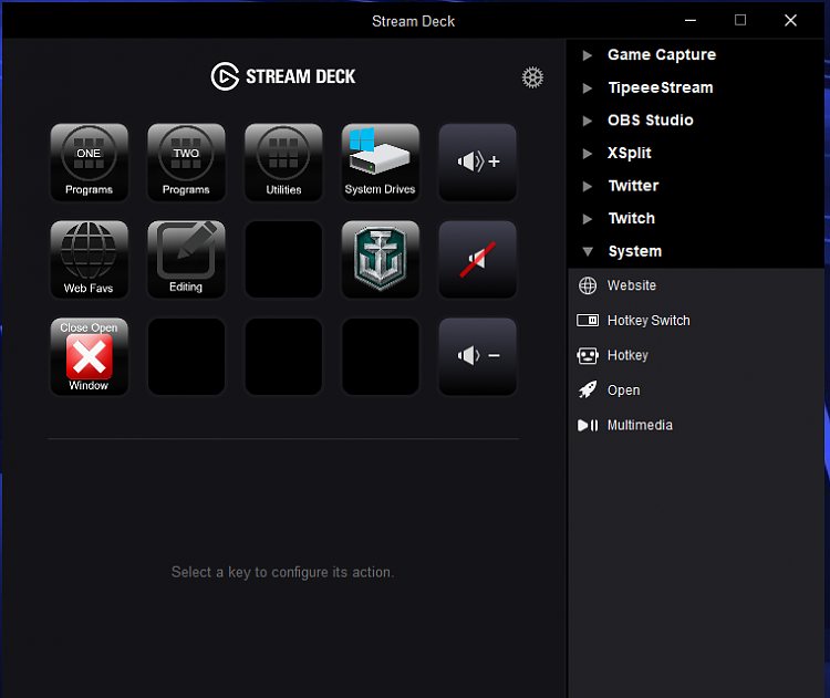 Click image for larger version.  Name:Stream Deck home.PNG Views:2 Size:80.5 KB ID:155948