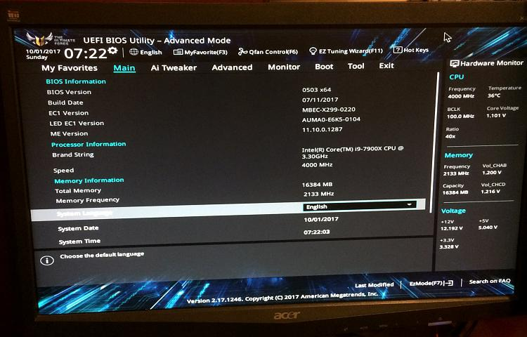 Click image for larger version.  Name:bios screen post.jpg Views:4 Size:693.5 KB ID:156103