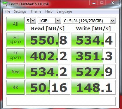 Click image for larger version.  Name:Crystal disk mark 850 pro 7.JPG Views:20 Size:49.2 KB ID:166994