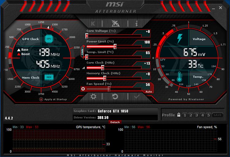 Latest MSI Afterburner Betas & Updates - Page 6 - Windows 10 Forums