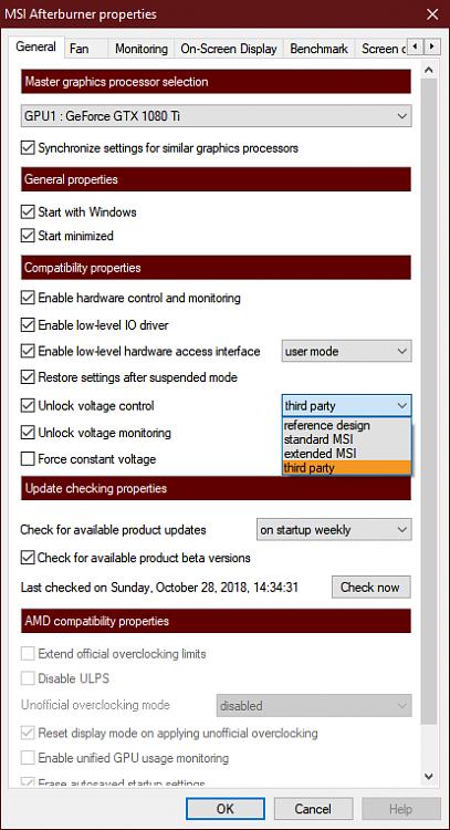 Latest MSI Afterburner Betas & Updates - Page 14 - Windows 10 Forums