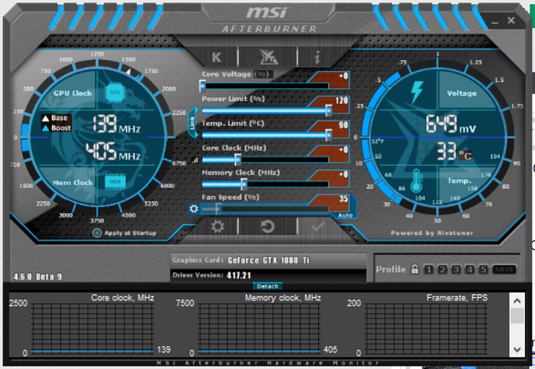 Latest MSI Afterburner Betas & Updates - Page 17 - Windows 10 Forums